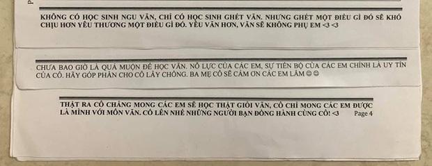 Muốn học sinh học tập chăm chỉ, cô giáo Văn kỳ công viết những lời nhắn nhủ, đọc xong ai cũng ôm bụng cười vì giúp cô thoát ế - Ảnh 1.
