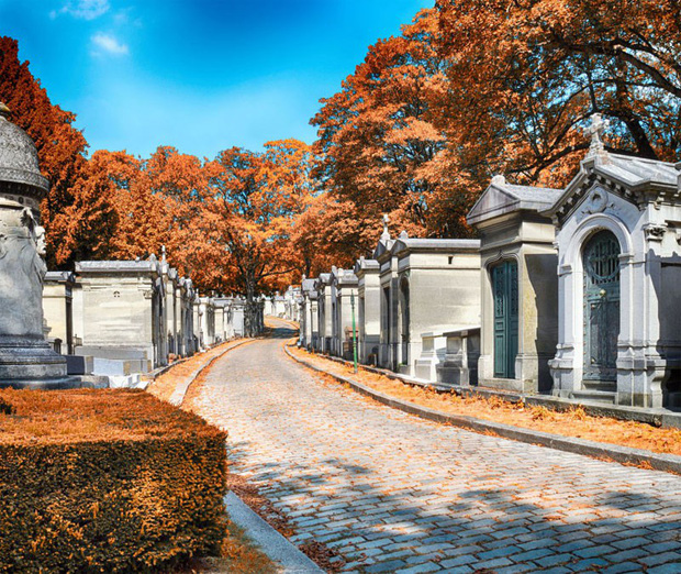 Vẻ đẹp của các nghĩa trang cổ khắp thế giới - Ảnh 1.