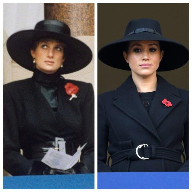 Meghan Markle copy nguyên xi hình mẫu của Công nương Diana trong sự kiện mới nhất, bị chỉ trích lạm dụng hình ảnh mẹ chồng quá cố - Ảnh 2.