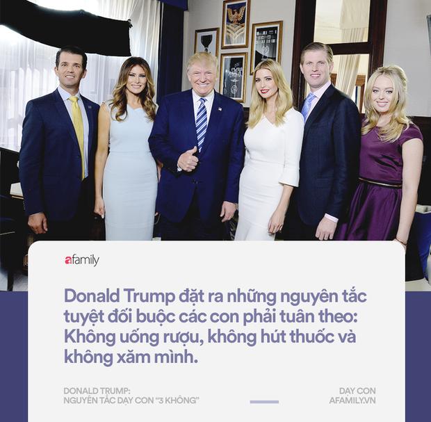 Làm tổng thống thì gây tranh cãi, nhưng về cách dạy con đố ai bắt bẻ được Donald Trump điều gì - Ảnh 2.