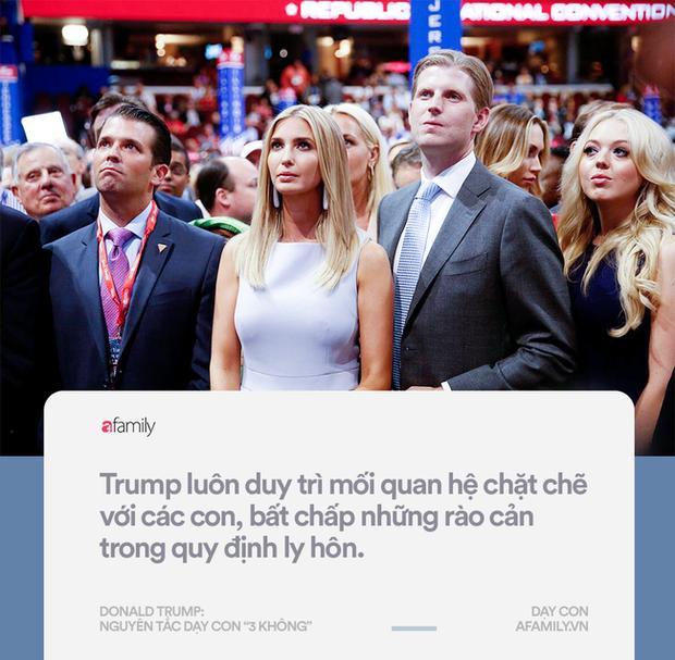 Làm tổng thống thì gây tranh cãi, nhưng về cách dạy con đố ai bắt bẻ được Donald Trump điều gì - Ảnh 4.