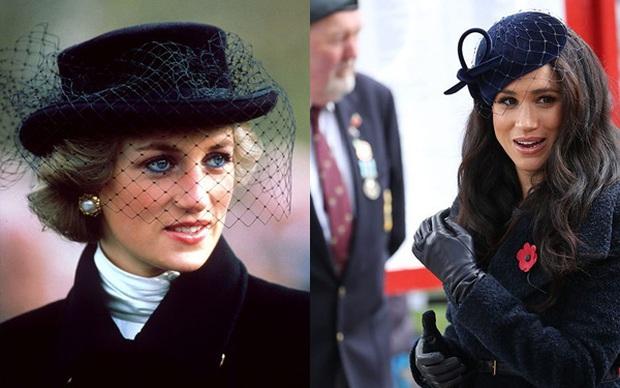 Meghan Markle copy nguyên xi hình mẫu của Công nương Diana trong sự kiện mới nhất, bị chỉ trích lạm dụng hình ảnh mẹ chồng quá cố - Ảnh 4.