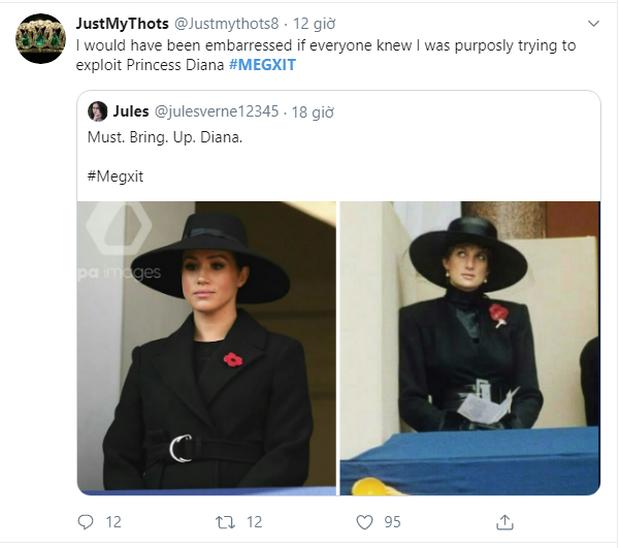Meghan Markle copy nguyên xi hình mẫu của Công nương Diana trong sự kiện mới nhất, bị chỉ trích lạm dụng hình ảnh mẹ chồng quá cố - Ảnh 6.