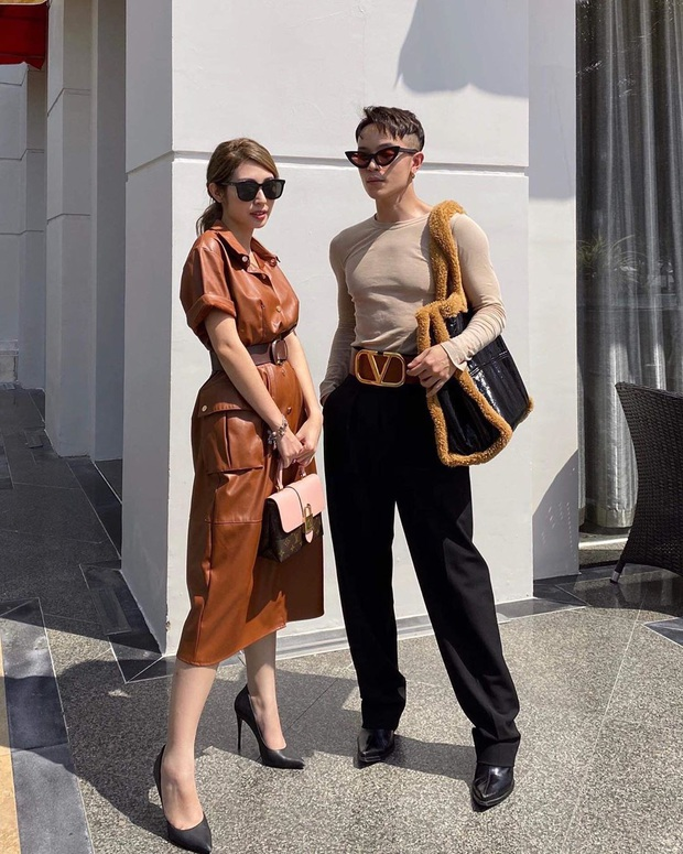 Street style sao Việt: Chi Pu diện áo corset khoe body nhỏ đến khó tin, Ngọc Trinh lại bất ngờ kín cổng cao tường - Ảnh 14.