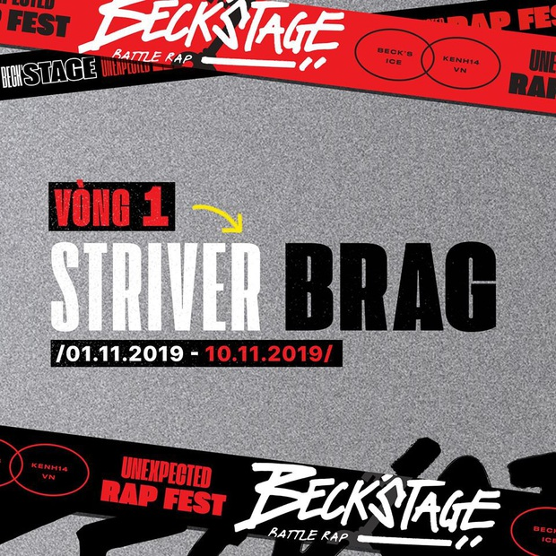 """Sau nhiều cuộc rượt đuổi suýt soát """"kẻ 8 lạng người nửa cân"""", Beck'Stage Battle Rap chính thức công bố các chiến binh bước tiếp vào vòng 2 - Ảnh 1."""