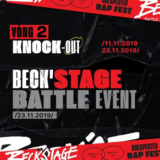 """Sau nhiều cuộc rượt đuổi suýt soát """"kẻ 8 lạng người nửa cân"""", Beck'Stage Battle Rap chính thức công bố các chiến binh bước tiếp vào vòng 2 - Ảnh 6."""
