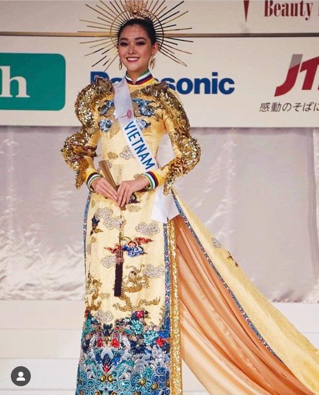 Chính thức dừng chân tại top 8 Hoa hậu Quốc tế 2019, Tường San viết tâm thư đầy xúc động cảm ơn bố mẹ và khán giả - Ảnh 6.