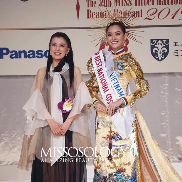 Tường San dừng chân ở Top 8, Thái Lan đăng quang Hoa hậu Quốc tế 2019 - Ảnh 3.
