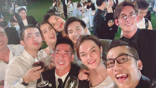 Dàn sao Vbiz trong đám cưới Đông Nhi - Ông Cao Thắng chính là đại diện cho 6 kiểu người khi đi quẩy, chuẩn không lệch đi đâu được - Ảnh 12.