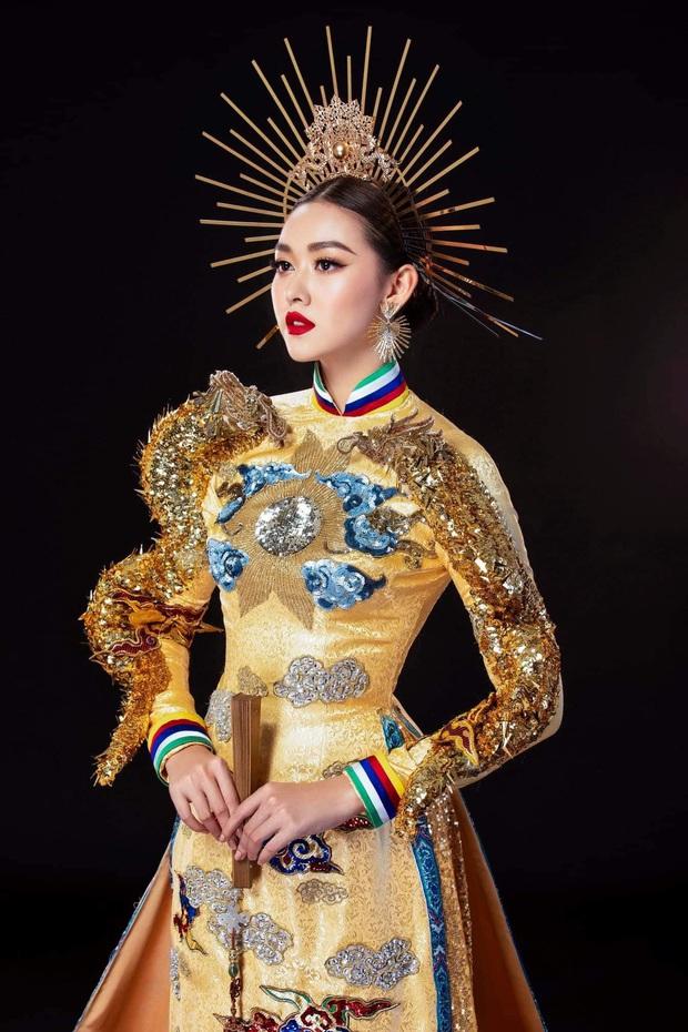 Trước giờ Chung kết Miss International, Tường San gặp sự cố gãy mấn áo dài trang phục dân tộc - Ảnh 2.