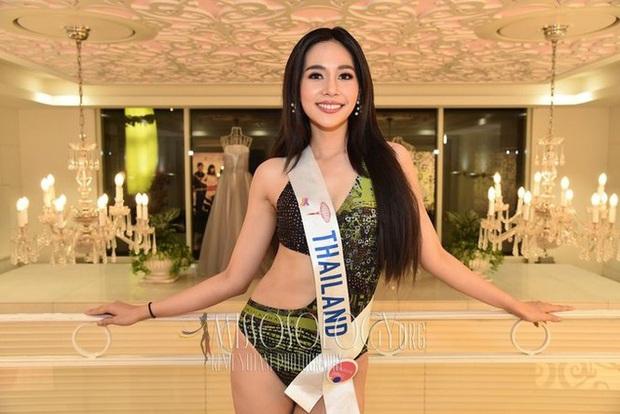 Chiêm ngưỡng nhan sắc dược sĩ Thái Lan đăng quang Hoa hậu Quốc tế 2019: Đẹp như minh tinh, thần thái ngút ngàn - Ảnh 4.