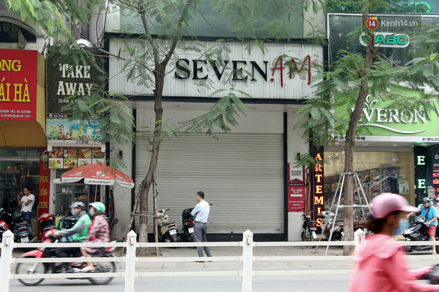 Ảnh: h.àng l.oạt cửa hàng Seven.AM tại Hà Nội đóng cửa, ng.ừng kinh doanh sau ngh.i vấn c.ắt má.c hàng T.Q - Ảnh 1.