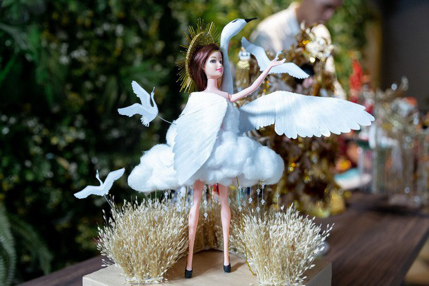 Lộ diện trọn bộ Quốc phục Cò của Hoàng Thùy tại Miss Universe 2019: Liệu có được vỗ cánh thật đẹp trên đất Mỹ? - Ảnh 3.