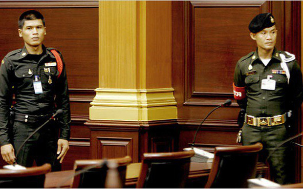 Xả súng tại tòa án Thái Lan khiến 2 người chết và 3 người bị thương - Ảnh 1.