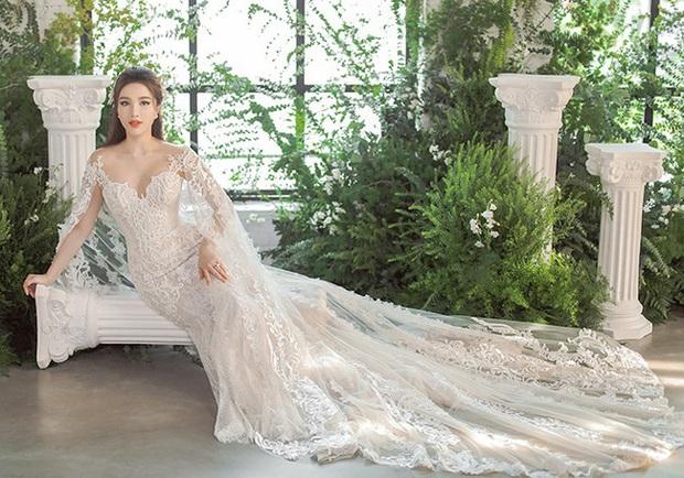 Bảo Thy khoe 3 mẫu váy cưới lộng lẫy, trong đó có 1 bộ phảng phất thiết kế kinh điển của Công nương Kate - Ảnh 3.