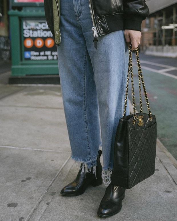 Diện quần jeans, chưa chắc là bạn đã có vẻ ngoài sành điệu nếu không mix với 4 mẫu giày sau đây - Ảnh 3.