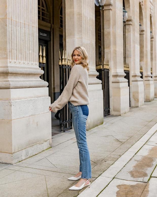 Không thể kìm lòng trước 5 cách diện áo len đẹp xỉu của phụ nữ Pháp, bạn sẽ muốn áp dụng bằng hết mới được - Ảnh 21.