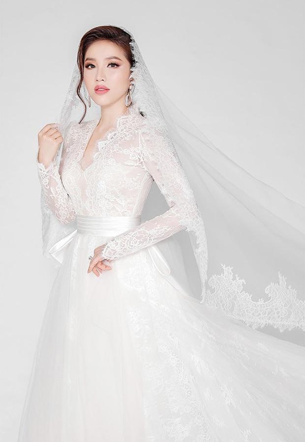 Bảo Thy khoe 3 mẫu váy cưới lộng lẫy, trong đó có 1 bộ phảng phất thiết kế kinh điển của Công nương Kate - Ảnh 9.