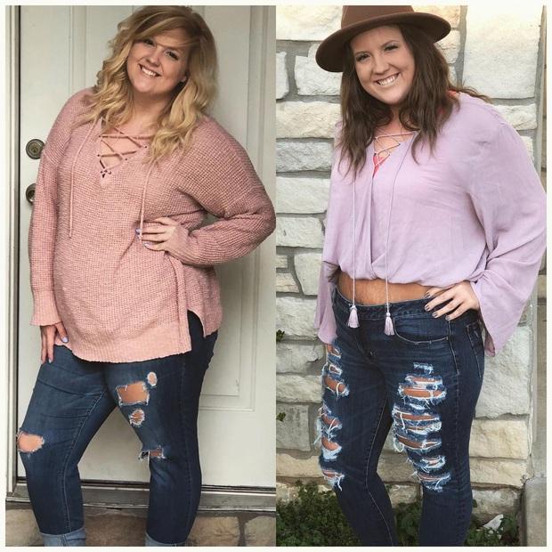 Từng bị bạn bè body shaming vì thân hình béo ú, mẹ 2 con người Mỹ hé lộ bí quyết giảm 46kg khiến ai cũng tròn mắt - Ảnh 3.