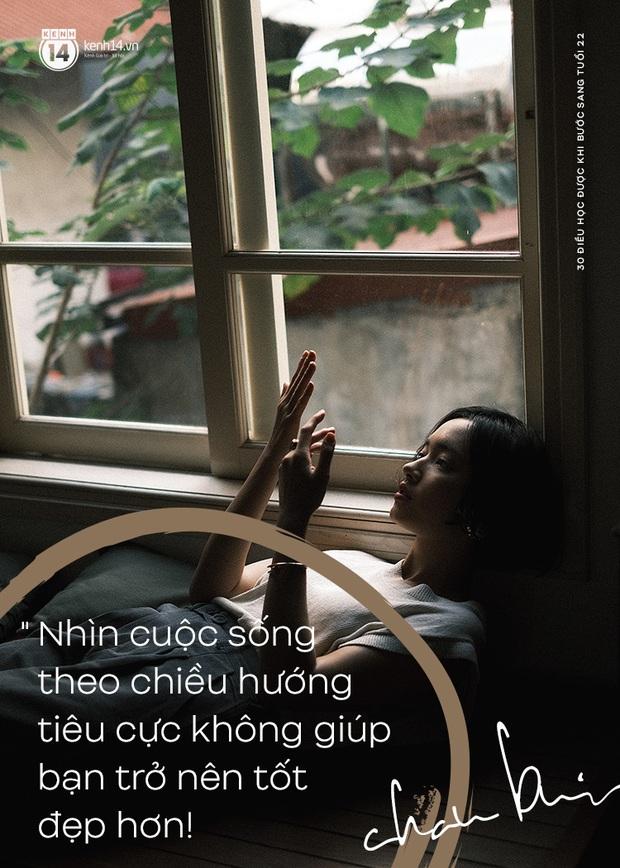 Châu Bùi nói về 30 điều đã học được khi bước sang tuổi 22: Tư duy logic, có chính kiến riêng và đừng lo chuyện bao đồng! - Ảnh 29.