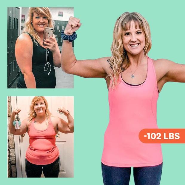 Từng bị bạn bè body shaming vì thân hình béo ú, mẹ 2 con người Mỹ hé lộ bí quyết giảm 46kg khiến ai cũng tròn mắt - Ảnh 1.