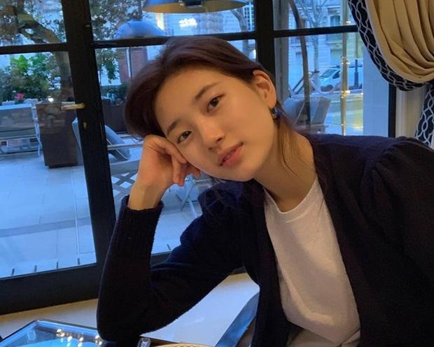 Thánh mặt mộc Suzy lại khuấy đảo MXH: 1 nét ảnh không son phấn mà leo thẳng lên top Naver - Ảnh 2.