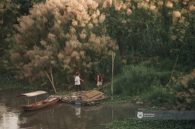 Hà Nội vào mùa cỏ lau đẹp ngút mắt: lên ảnh đẹp thế này thì cần gì sang tận Hàn Quốc chụp cỏ hồng? - Ảnh 6.