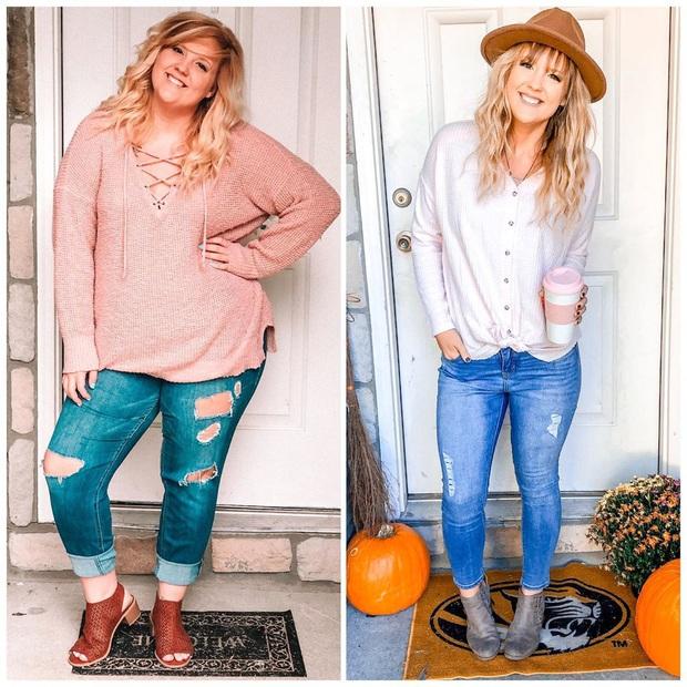 Từng bị bạn bè body shaming vì thân hình béo ú, mẹ 2 con người Mỹ hé lộ bí quyết giảm 46kg khiến ai cũng tròn mắt - Ảnh 9.
