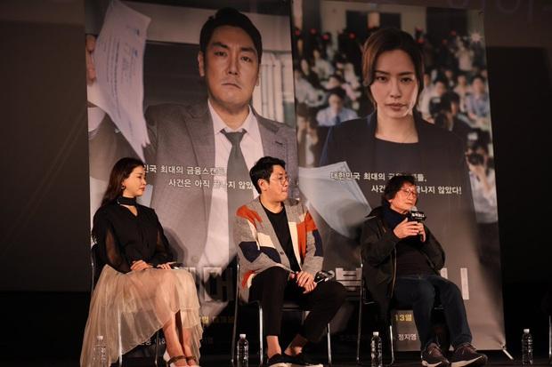 Tranh cãi Hoa hậu Hàn đẹp nhất thế giới Honey Lee diện váy xuyên thấu mặc như không, dáng ngồi hớ hênh ở sự kiện - Ảnh 4.