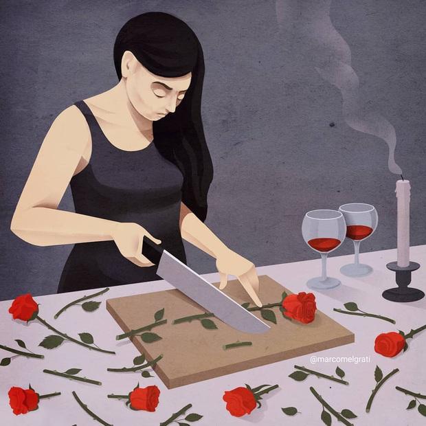 Bộ tranh: Chẳng phải màu hồng, cuộc sống hiện đại vẫn tồn tại những mặt tối đến đáng sợ - Ảnh 17.