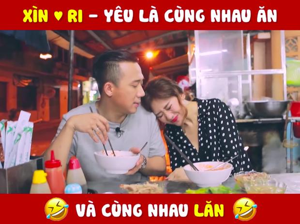 """Nhìn vào số lần vợ chồng Trấn Thành – Hari Won đi ăn chung mà """"phát hoảng"""": Đúng là yêu thì phải cùng ăn rồi cùng nhau… lăn! - Ảnh 9."""