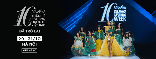 """Điểm sáng khiến giới mộ điệu """"trầm trồ"""" tại Tuần lễ Thời trang Quốc tế Việt Nam 2019 - Ảnh 6."""