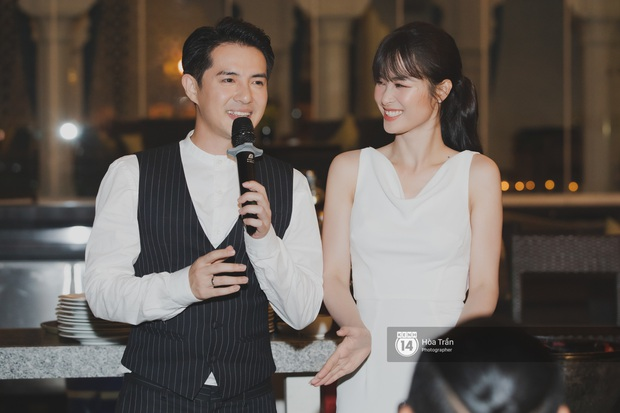 Hậu đám cưới thế kỷ, Đông Nhi tiết lộ sụt 1,5kg nhưng vẫn xuất hiện cực xinh bên ông xã Ông Cao Thắng tại tiệc cảm ơn - Ảnh 8.