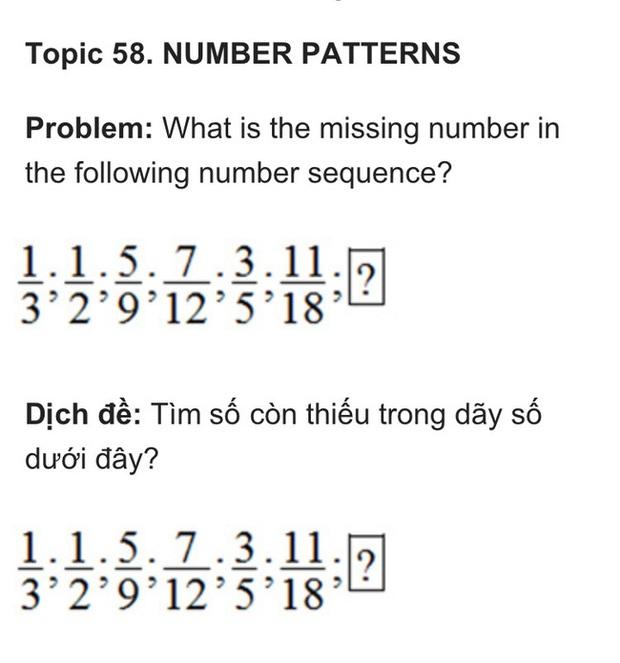 Nếu làm được bài toán lớp 5 trong kỳ thi học sinh giỏi này thì xin chúc mừng, IQ của bạn không phải dạng vừa đâu - Ảnh 1.