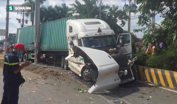 Tài xế container ngủ gật gây tai nạn khiến 5 người tử vong ở Tây Ninh bị tuyên 14 năm tù - Ảnh 2.