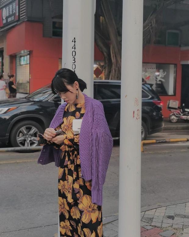 Ngắm street style châu Á tuần qua để găm loạt bí kíp diện áo len to sụ siêu xinh cho ngày trở rét - Ảnh 6.