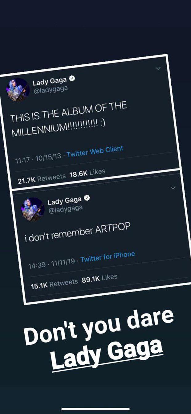 Từng tự tin tung hô Artpop là album của thiên niên kỷ, giờ đây Lady Gaga tuyên bố giả vờ quên luôn album này vì flop quá thảm thương! - Ảnh 5.