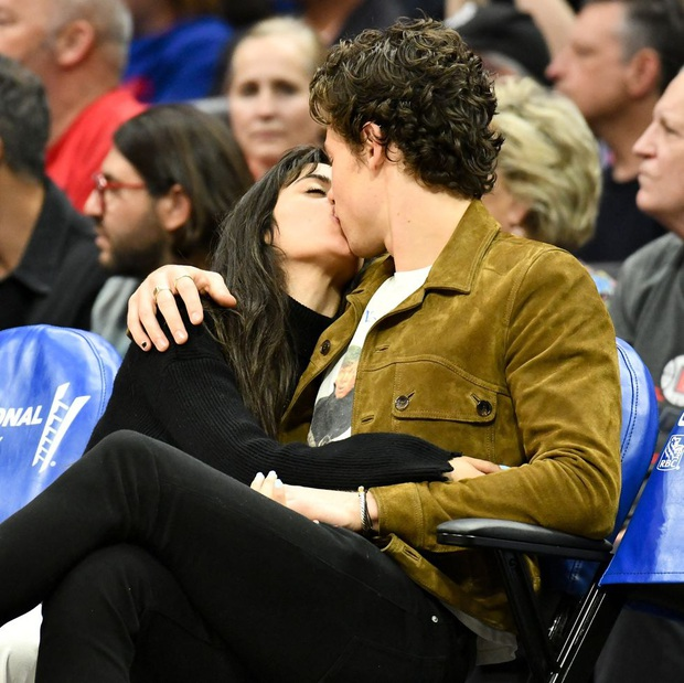 Bức hình gây bão mạng: Shawn Mendes - Camila hôn như vồ lấy nhau và đôi bạn già ngồi bên, nhìn mà tức á! - Ảnh 5.
