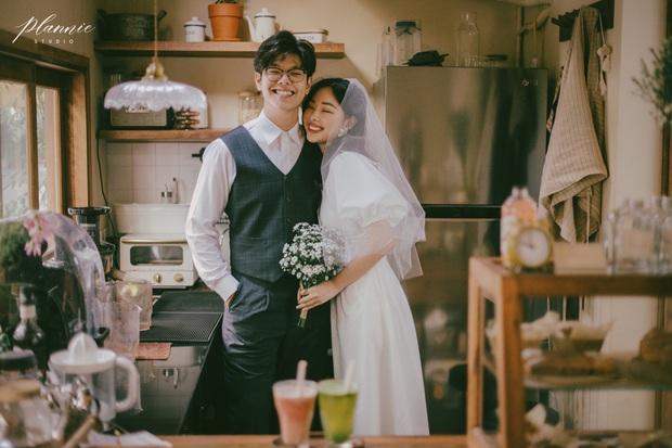 Trọn bộ ảnh cưới cực đáng yêu của cặp đôi MC trai tài gái sắc Mạnh Cường – Hương Giang - Ảnh 1.