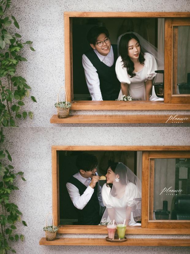 Trọn bộ ảnh cưới cực đáng yêu của cặp đôi MC trai tài gái sắc Mạnh Cường – Hương Giang - Ảnh 7.