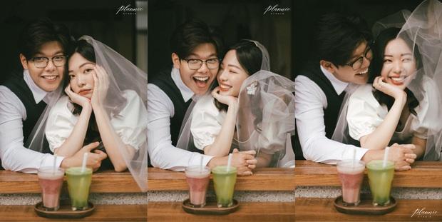 Trọn bộ ảnh cưới cực đáng yêu của cặp đôi MC trai tài gái sắc Mạnh Cường – Hương Giang - Ảnh 4.