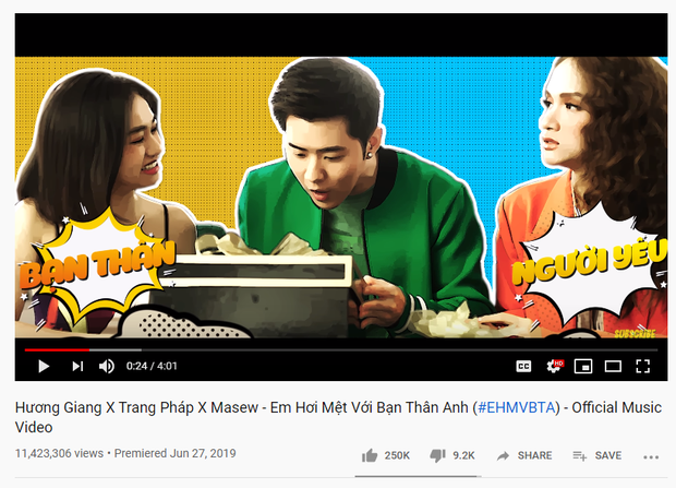 Nghệ sĩ Vpop nào là bá chủ Top 1 Trending năm 2019: Jack và K-ICM ngang bằng Hương Giang và Min, nhưng Đen Vâu mới là trùm cuối! - Ảnh 4.