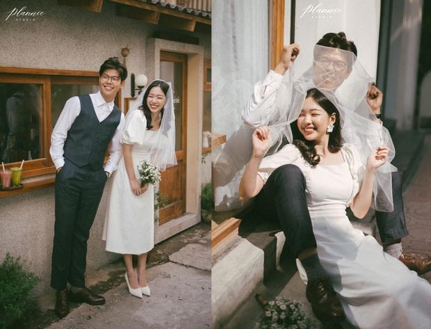 Trọn bộ ảnh cưới cực đáng yêu của cặp đôi MC trai tài gái sắc Mạnh Cường – Hương Giang - Ảnh 3.