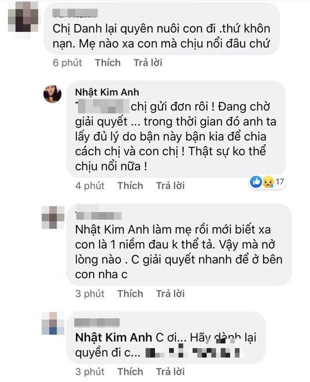 Bị chồng ngăn cản gặp con trai, Nhật Kim Anh bức xúc: Anh đừng ích kỷ nữa, tôi chịu hết nổi rồi! - Ảnh 2.