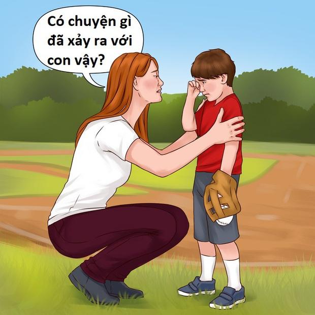 Khi con trẻ gặp thất bại hoặc bị từ chối, cha mẹ nên làm 5 điều đơn giản nhưng rất hữu ích sau! - Ảnh 2.