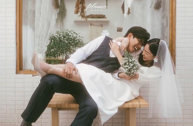 Trọn bộ ảnh cưới cực đáng yêu của cặp đôi MC trai tài gái sắc Mạnh Cường – Hương Giang - Ảnh 5.