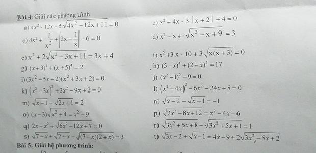 Hí hửng vì thầy kêu Hôm nay giao một bài thôi, học sinh được dịp té ngửa trước một bài độc đáo thách thức học trò làm mệt nghỉ - Ảnh 4.