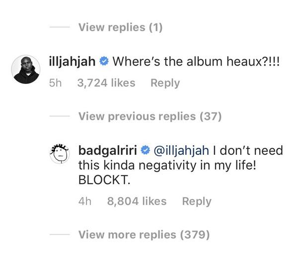 Nhân viên Rihanna lỡ miệng comment hỏi thăm về tung tích album mới, bị chính chủ block ngay và luôn! - Ảnh 1.