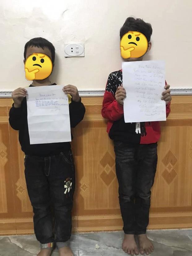 2 nam sinh tiểu học bị cô giáo phạt vì viết thư cho bạn gái, điều đáng nói là nội dung bản kiểm điểm quá buồn cười - Ảnh 1.