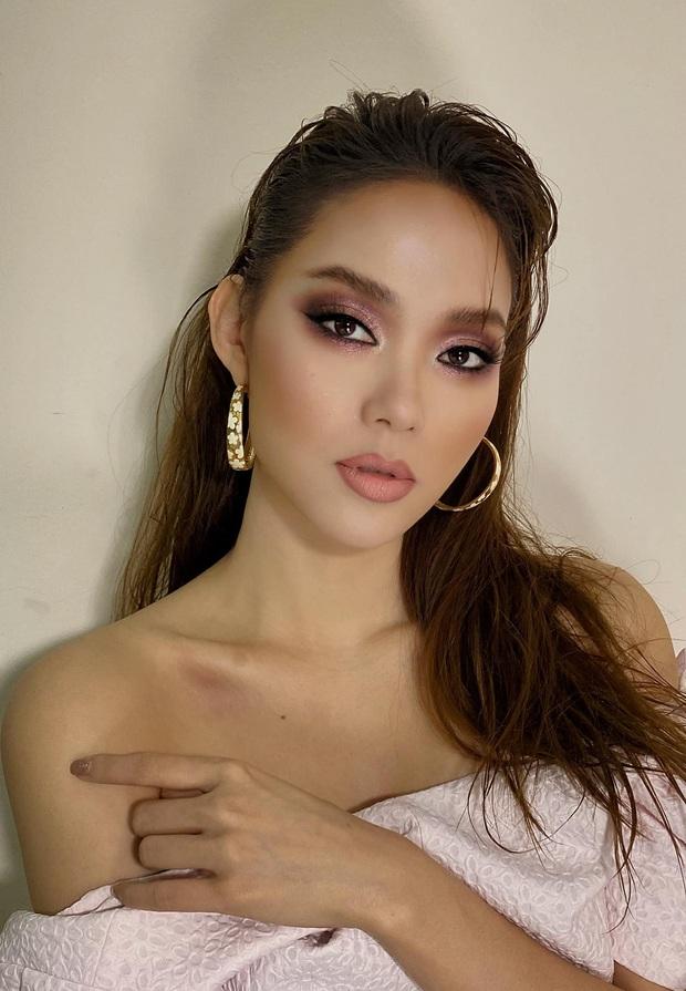 Đu đưa makeup kiểu tây tây, Minh Hằng bỗng hóa... chị ruột Lan Khuê nhưng nhìn thế nào vẫn thấy chút lạc quẻ - Ảnh 2.